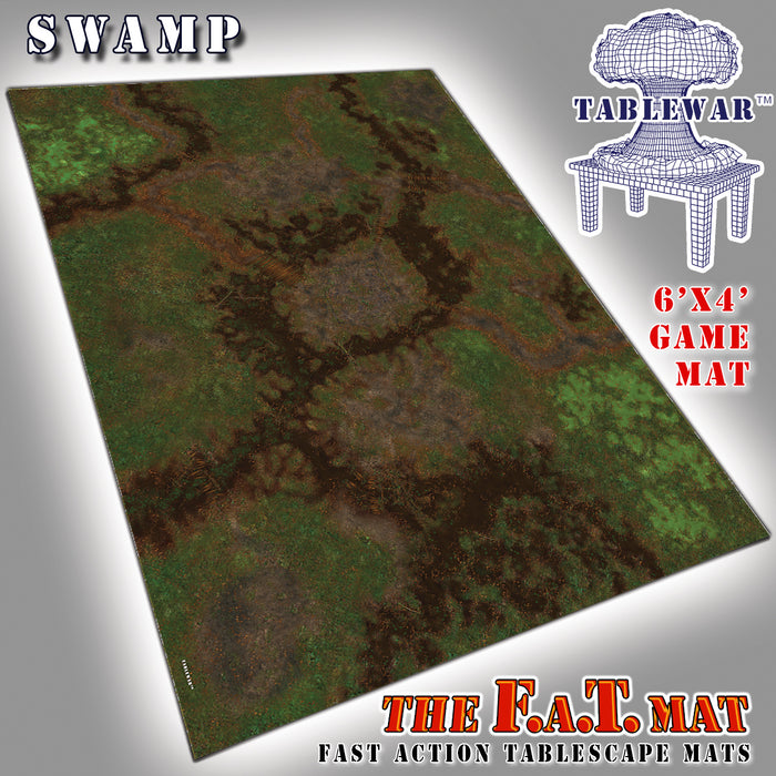 Tablewar 6x4 'Swamp' F.A.T. Mat Gaming Mat