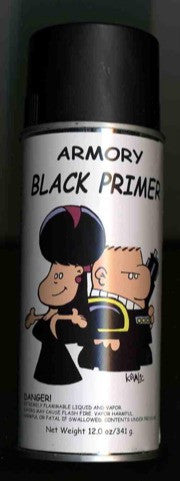 Armory Black Primer Spray