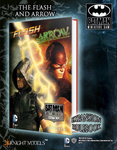 Batman Miniatures Game The Flash and Arrow