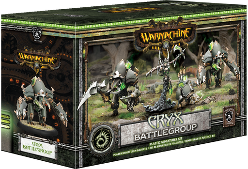 Warmachine Cryx Battlegroup Starter Box