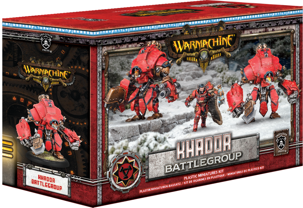 Warmachine Khador Battlegroup Starter Box