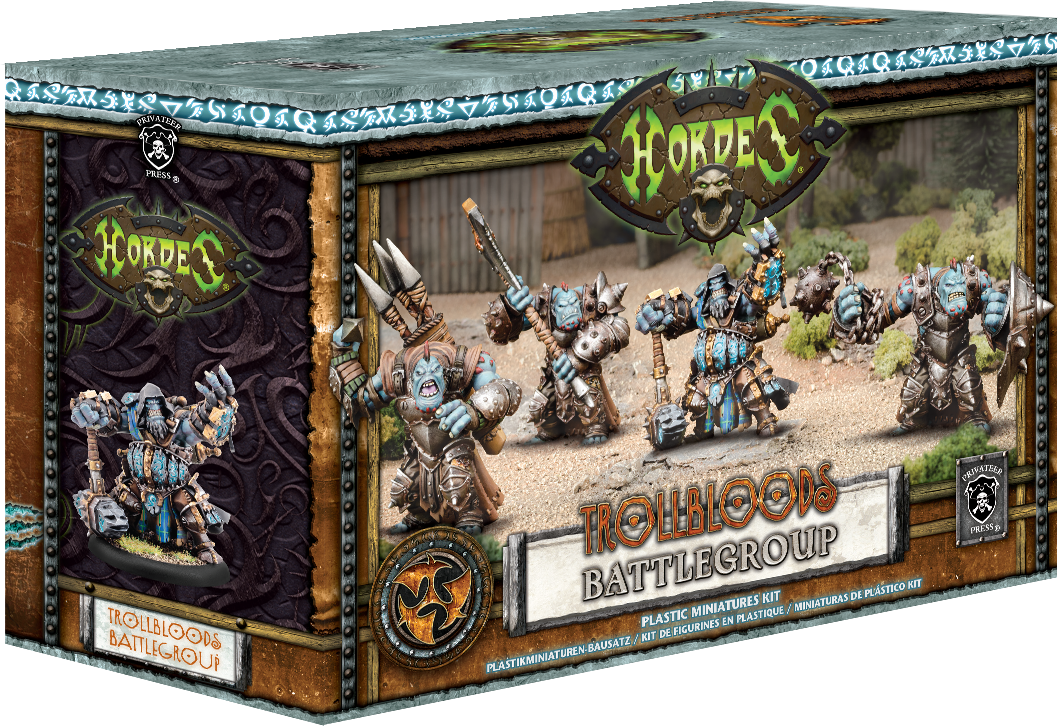 Hordes Trollbloods Battlegroup Starter Box