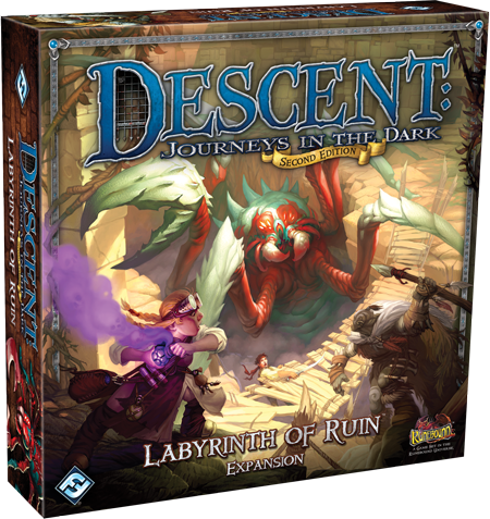 Descent Journeys In The Dark Second Edition Labyrinth Of Ruin Expansion Game
