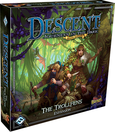 Descent Journeys In The Dark Second Edition The Trollfens Expansion