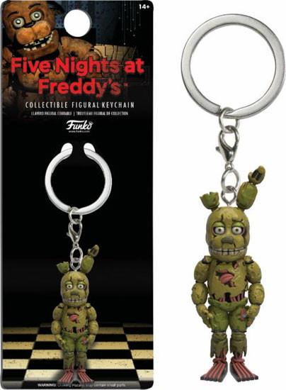 Five Nights at Freddy's Spring Trap Key Chain
