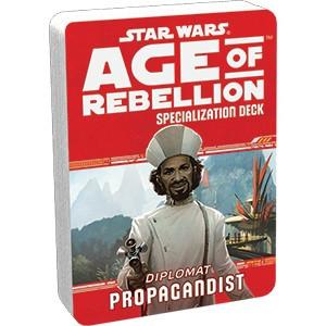 Star Wars Age of the Rebellion Diplomat Propagandist Specialization Deck