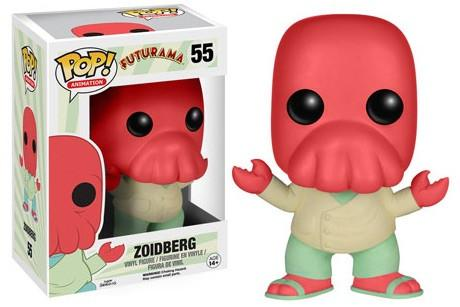 Funko PoP! Animation Futurama Zoidberg 55