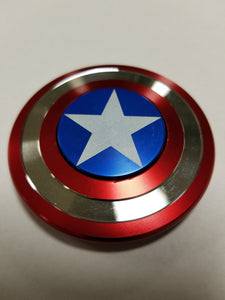 Fidget Spinner Cap's Shield