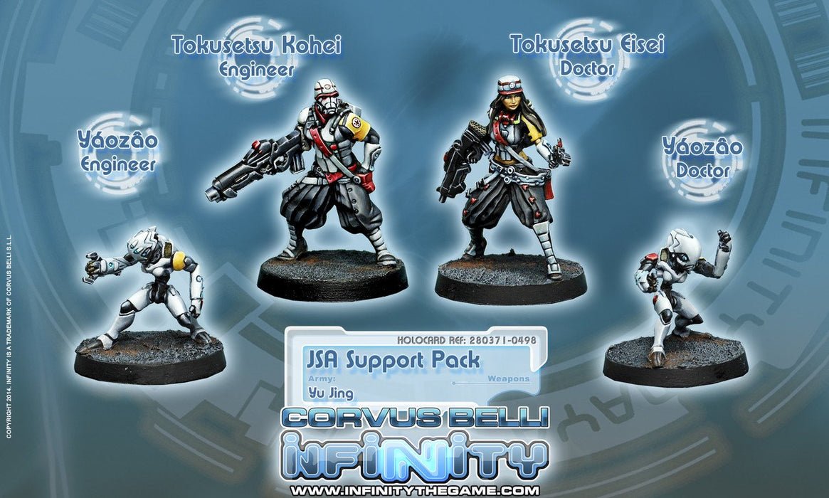 Corvus Belli Infinity Japanese Sectorial Support Pack