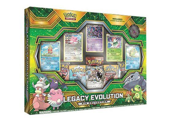 Pokémon TCG Legacy of Evolution Pin Collection