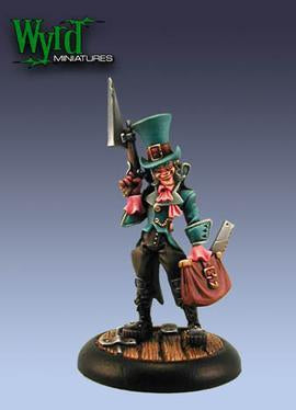 Malifaux Seamus The Mad Hatter