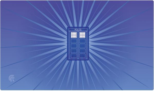 Police Box Playmat