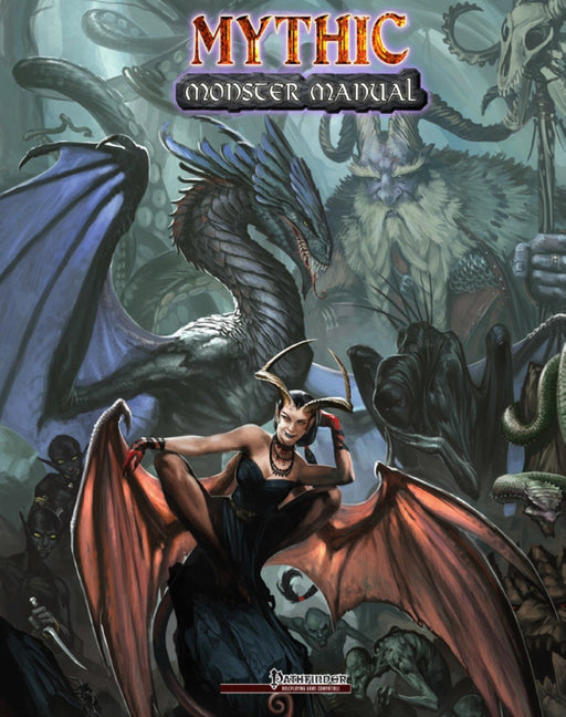 Mythic Monster Manual Pathfinder RPG Compatible