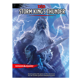 D&D Dungeon Master's Screen Storm Kings Thunder