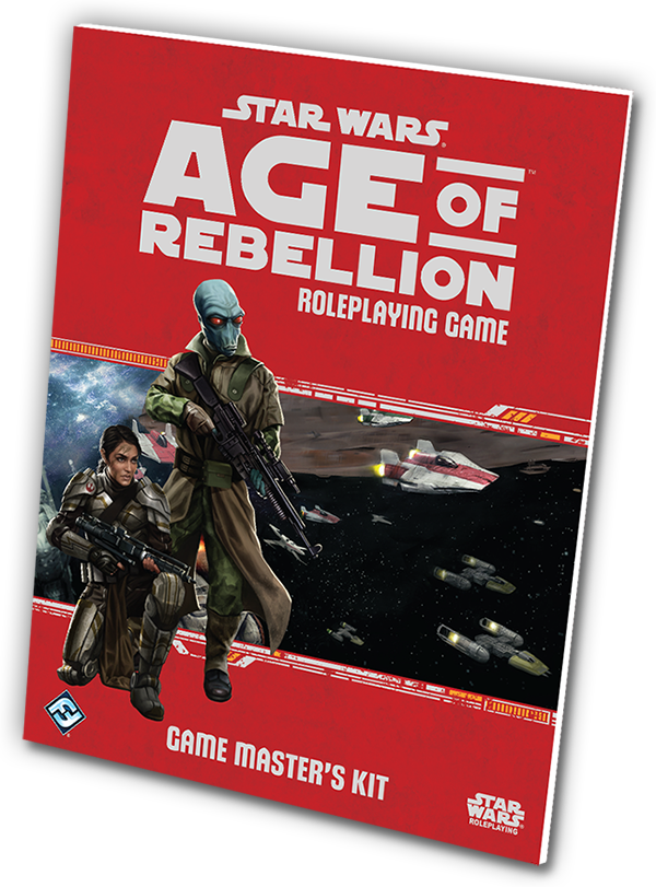 Star Wars Age of Rebellion Game Master's Kit