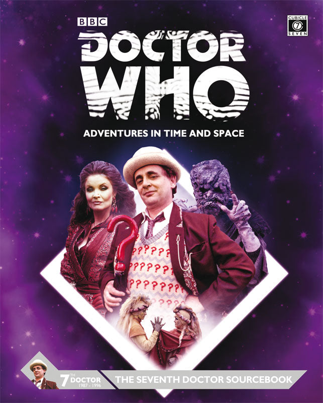 Doctor Who RPG Adventures In Time and Space The Seventh Doctor  Sourcebook