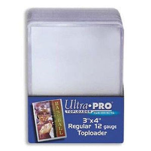 UltraPro Toploader Regular Ultra Clear (25 ct.)