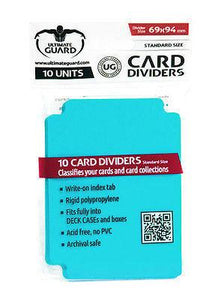 Ultimate Guard Card Dividers Aquamarine