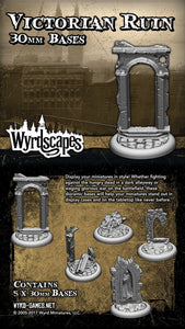 Malifaux Wyrd Escape Victorian Ruin 30mm Base