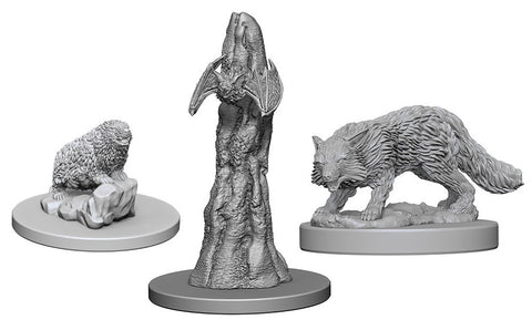 Deep Cuts Pathfinder Unpainted Miniatures Familiars