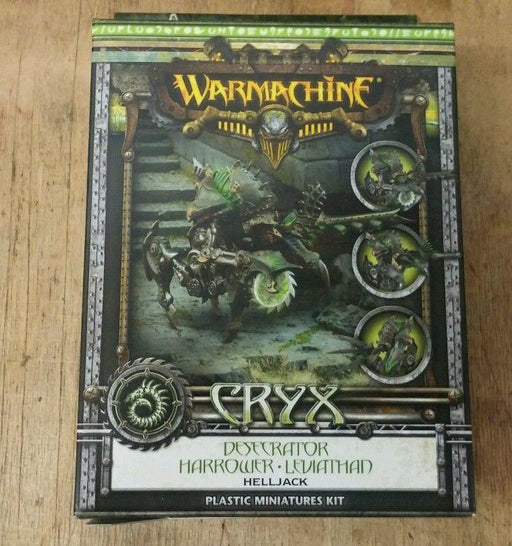 Warmachine Cryx Desecrator Harrower Leviathan Helljack
