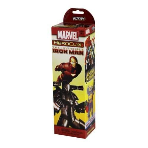 Marvel HeroClix The Invincible Iron Man Booster Pack