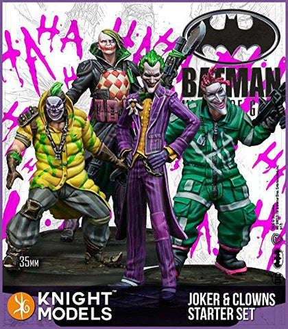 Batman Miniature Game 2nd Ed Joker and Clowns Starter Set