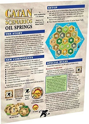 Catan: Scenario - Oil Springs