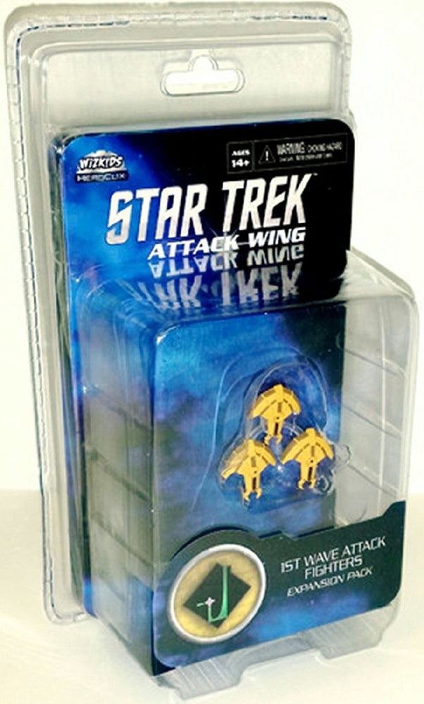 Star Trek Attack Wing: Wave 10 Hideki-Class Attack Squadron Expansion Pack