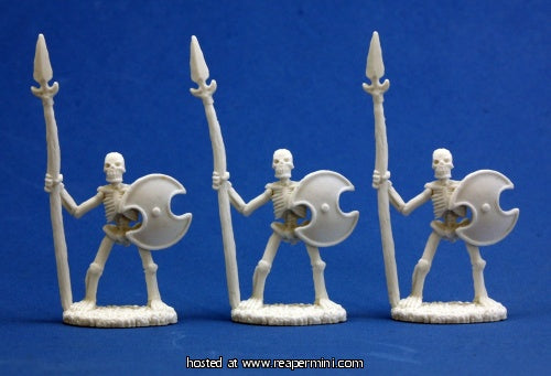 Dark Heaven: Bones Skeletal Spearmen (3)