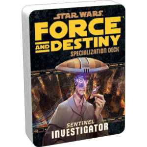 Star Wars RPG: Force and Destiny - Investigator Specialization Deck