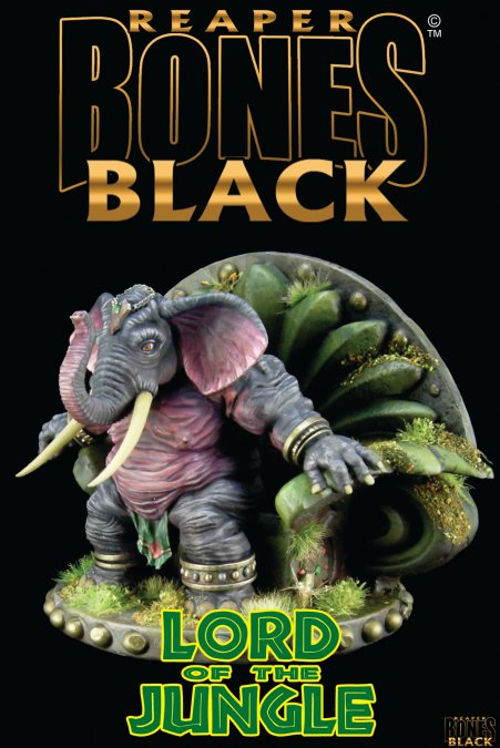 Bones Black: Lord of the Jungle - Deluxe Boxed Set
