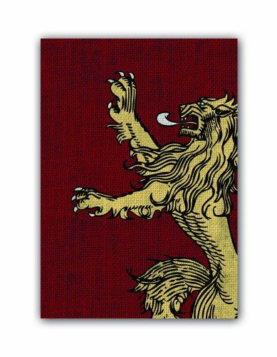 A Game of Thrones: House Lannister Art Sleeves (50) (HBO Edition)