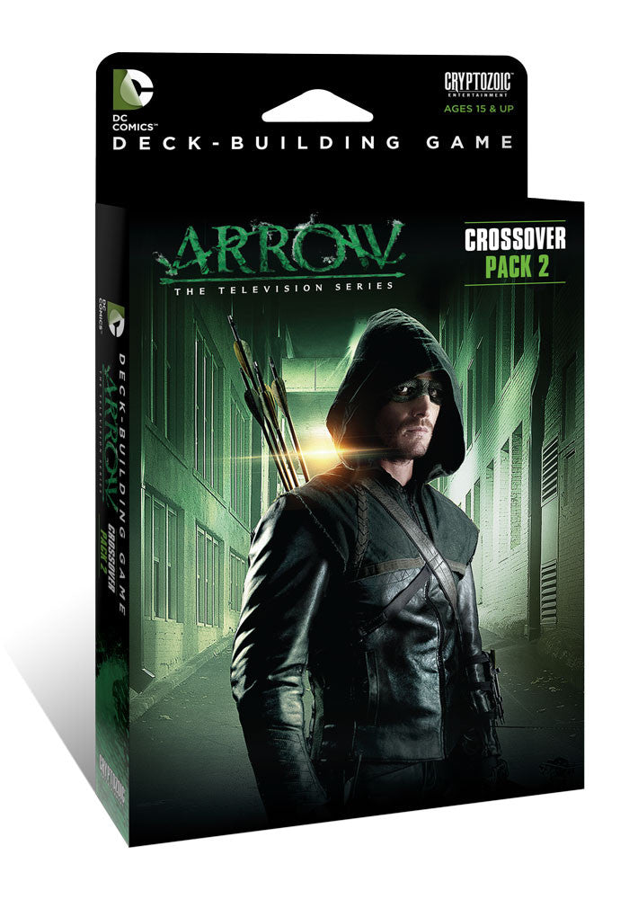 DC Comics DBG Crossover Pack 2 Arrow the Television Series Expansion