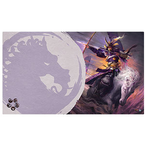 Legend of the Five Rings Playmat Mistress of the Five Winds Unicorn Clan