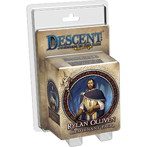 Descent Journeys in the Dark Second Edition Rylan Olliven Lieutenant Pack