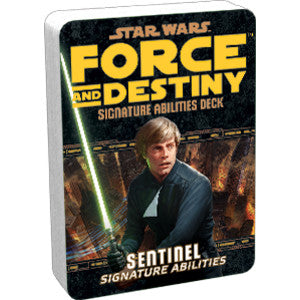 Star Wars RPG: Force and Destiny - Sentinel Signature Abilities Specialization Deck