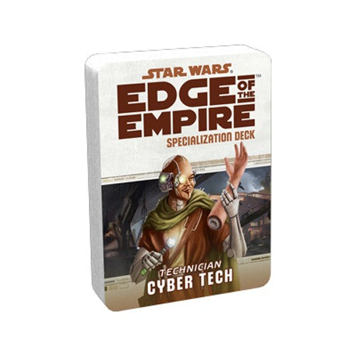 Star Wars RPG Edge of the Empire Cyber Tech Specialization Deck