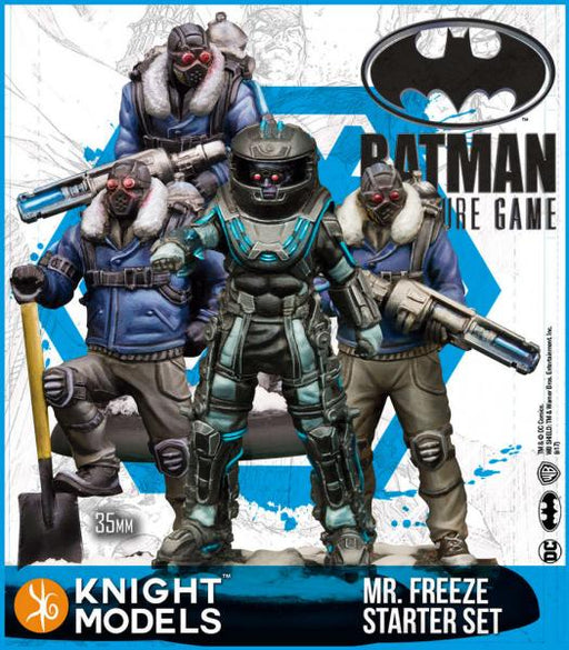Batman Miniature Game: Mr Freeze Starter Set (2nd Edition) (Resin)