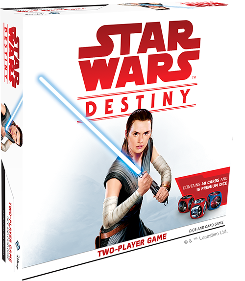 Star Wars Destiny Two-Player Dice And Card Game