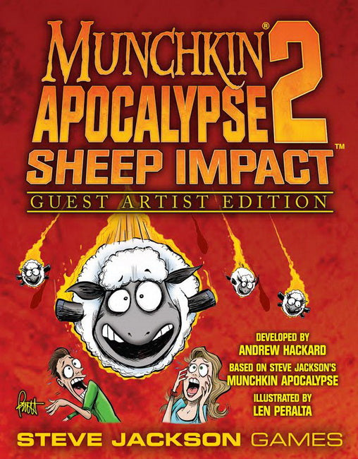 Munchkin Apocalypse 2 Sheep Impact Guest Artist Edition