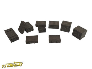 28mm Terrain: City Accessories - Wooden Crates Set (resin)