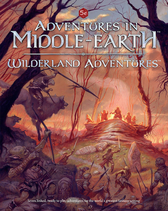 Adventures in Middle Earth Wilderland Adventures 5E