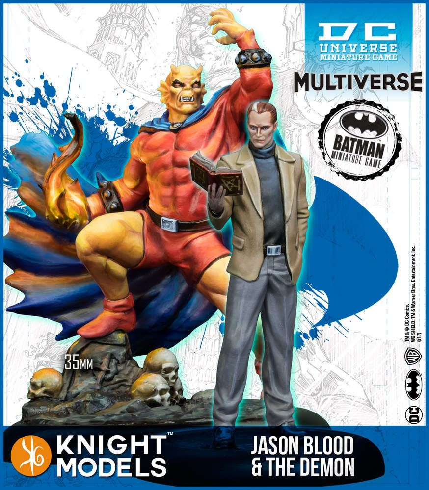 Knight Models DC Universe Jason Blood & Demon