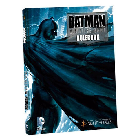 Batman Miniatures Game Rulebook (Batman Cover)