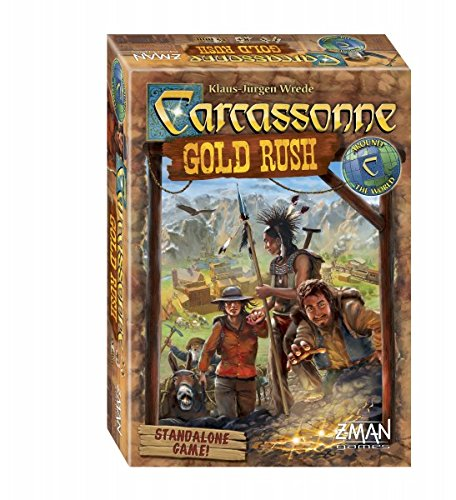 Carcassonne Gold Rush Board Game Z Man Games