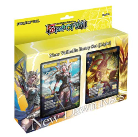 Force of Will CCG: Starter Valhalla Cluster - Light Deck
