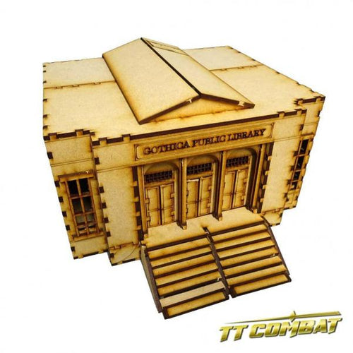28mm Terrain: City Scenics - Grand Library