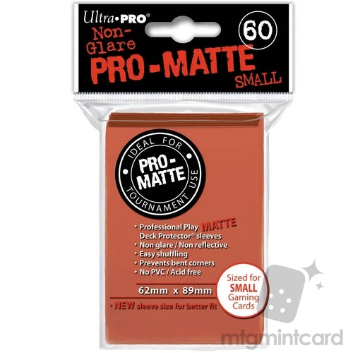 Small Non-Glare Pro-Matte 60ct Peach