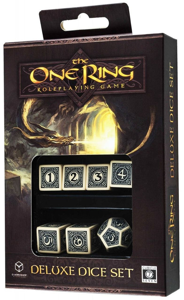The One Ring RPG Deluxe Dice Set 6D6+1D12 (7)